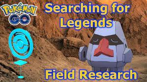 Pokémon GO Suche nach Legenden (Nosepass) Feldforschungshandbuch