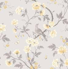 grey fl wallpaper mustard