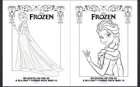 Small Picture FROZEN Coloring Pages and Activity Sheet Printables