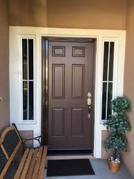 retractable screen doors. Single Tudor Brown Mirage Retractable Screen Door Installed In Ryland Oasis, Menifee 11/8 Doors B