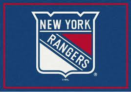 new york rangers sports team rug
