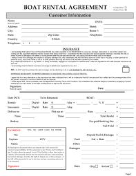 7 rental agreement templates excel pdf formats