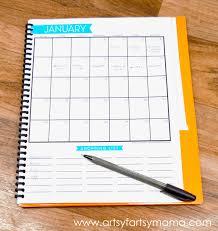 printable monthly menu planner free printable monthly menu planner artsy fartsy mama