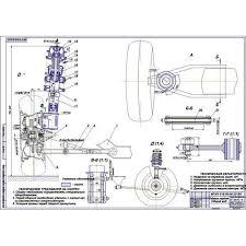 Дипломная работа на тему Передняя подвеска на составных пружинах М