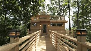 Perfect Treehouse Masters Animal Planet See Inside A Frank Lloyd Wrightinspired With Creativity Design