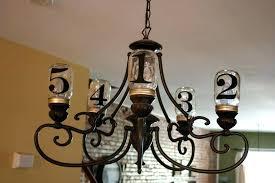 canning jar chandelier diy mason