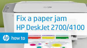 HP DeskJet 2700, DeskJet Plus 4100 Printers - 'E4' Error Displays (Paper Jam)