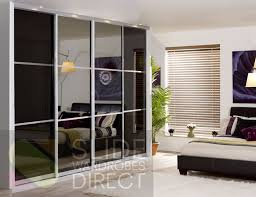 4 sliding wardrobe doors 3 panel monaco style opening width 2390mm 4555mm
