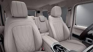 Interior cargo volume seats folded. 2021 G 550 Suv Mercedes Benz Usa