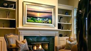 frames for wall mounted s framed with art mirror cover frame my tv tvs lovely inch
