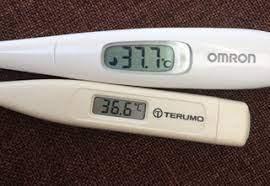体温計 測る たび に 違う