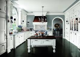Small Picture Kitchen white cabinets dark floors Video and Photos