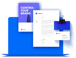Graphic Design Proof Template Design Your Brand Online With Self Serviced Template Technology