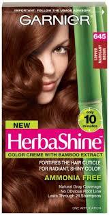 Garnier Herbashine Haircolor 645 Copper Mahogany Brown