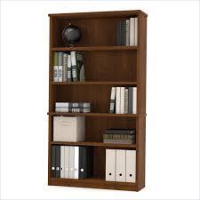 bestar elite modular 5 shelf bookcase in tuscany brown 58581 687001163 photo