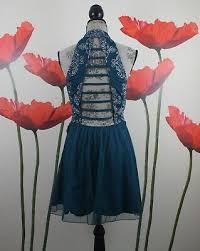Xtraordinary Juniors Lace Fit Flare Sleeveless Dress