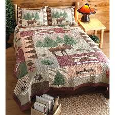 Rustic Cabin Quilt Fabric Moose Lodge Quilt Set Great Look For ... & Rustic Cabin Quilt Fabric Moose Lodge Quilt Set Great Look For Your Lodge  Cabin Camper Or Adamdwight.com