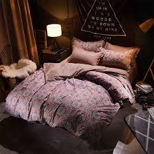 sookie european vintage style bedding set mandala print bed linen twin full queen king size bedclothes duvet cover sets duvet cover fl bedding sets