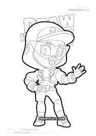 Brawl stars is een vechtspel dat beschikbaar is voor mobiele telefoons (ios en android) en tablets. How To Draw Streetwear Max Brawl Stars Draw It Cute Free Coloring Pages Drawings Drawing Tutorial Easy