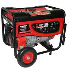 Smarter Tools GP 6500 5 500 Watt Continuous Gasoline Powered