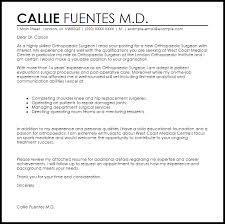Orthopedics Cover Letter Examples Orthopaedic Surgeon Cover Letter Gorgeous Sample Resume For Orthopedic Surgeon