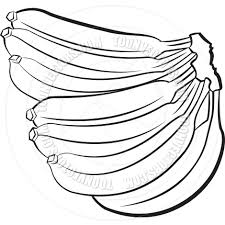 banana clipart black and white. banana clip art black and white clipart a
