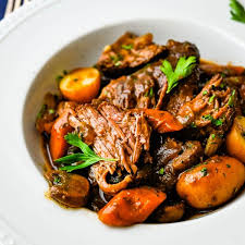 homestyle pot roast in a