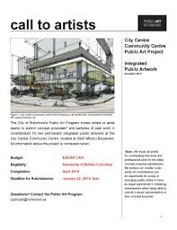 Editable Public Art Proposal Sample To Submit Online | Artwork-Co ...