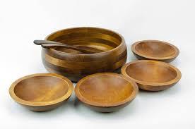 baribocraft salad bowl set lesco baribo maid wood salad bowl set vintage wooden salad bowls