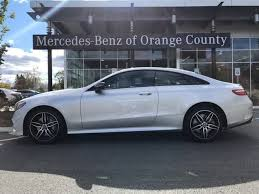 Although it just a facelift, we expected a few more. New 2020 Mercedes Benz E 450 4matic Coupe Iridium Silver Metallic Oc20 70