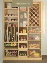 cream kitchen pantry cabinet design