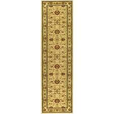 safavieh lyndhurst ivory 2 ft x 20 ft runner rug