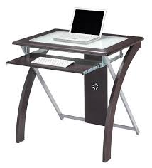 attractive small glass desk elegant computer table for home top interior design ikea uk with drawer clock lamp canada