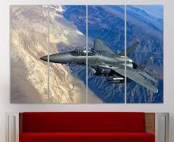 jet airplane wall art