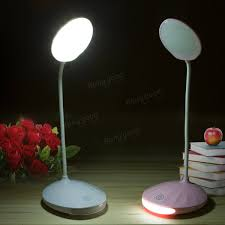 Touch Light Sensor Adjustable Rechargeable Dimmable Touch Sensor Led Reading Night