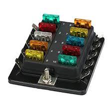 led marine fuse box on wiring diagram amazon com ninth city 10 circuit led fuse block and cover kit car cadillac escalade fuse box led marine fuse box