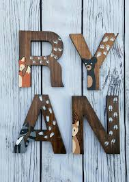 wood letters for nursery and decorative wooden letters nursery with how to make wooden letters for baby room plus wood letters for nursery together with