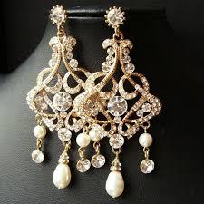 best 25 bridal chandelier earrings ideas on blush for attractive home chandelier earrings gold plan