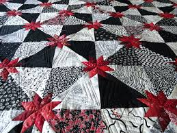 Red And Black Quilt Sets Full Size Of Red Black And White Quilting ... & I Pieced This Quilt Using Deb Tuckers Rulers Red And Black Quilts For Sale  Red And ... Adamdwight.com