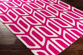 artistic weavers joan joan 6080 wellesley hot pink rug