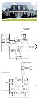 Delightful Colonial Country Farmhouse House Plan 85454