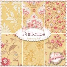 32 best Fabric - 3 Sisters images on Pinterest | Sisters, Fashion ... & Printemps 6 FQ Set - Buttercup By 3 Sisters For Moda Fabrics: Printemps is a Adamdwight.com