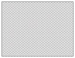 Isometric Graph Paper Template 11 X 17 8 5x11 Printable Pdf