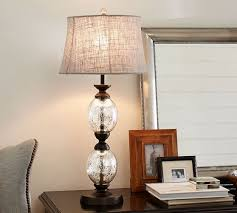 mercury glass lighting fixtures. stacked mercury glass table lamp base lighting fixtures