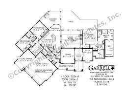 nantahala 3024 house plan house plans by garrell associates, inc Mountain Craftsman House Plans nantahala house plan 13115, 1st floor plan mountain craftsman house plans with photos
