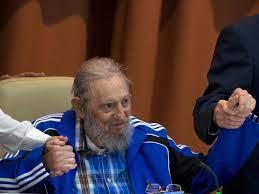 Fidel Castro mit Abschiedsworten in Kuba
