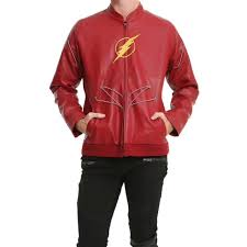 dc comics justice league the flash jacket