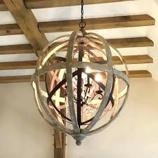 wood orb chandelier kitchen wooden orb chandelier uk