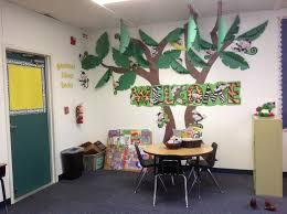 Classroom Design Ideas amazing kindergarten classroom design ideas with small round table and chairs also jungle wall decor paper