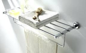 standing towel rack brushed nickel. Standing Towel Rack For Bathroom Bath Racks Shop Bars Floor Brushed Nickel G